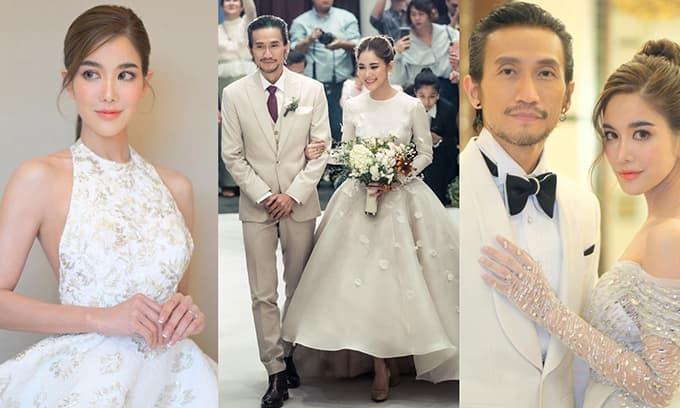 Cặp sao đình đám làng giải trí Thái Lan chính thức kết hôn sau nhiều năm hẹn hò