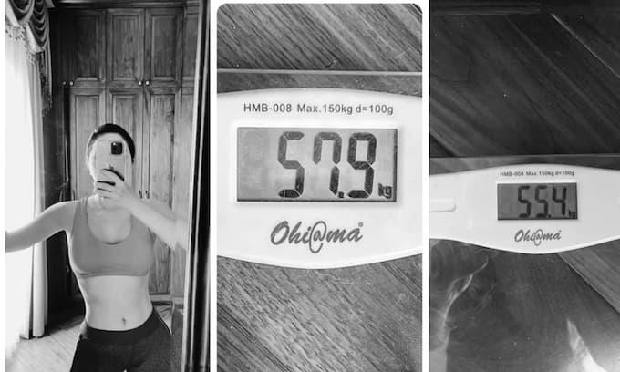 Bảo Thy khoe body nóng bỏng - Giảm 2,5 kg chỉ sau 1 tuần