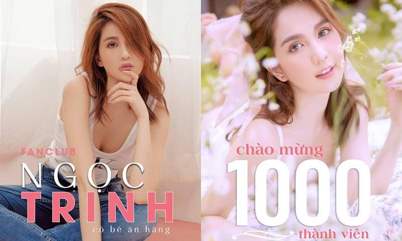 Hậu thừa nhận không có tài năng, group fanclub của Ngọc Trinh cán mốc với 1000 thành viên chỉ sau 3 ngày