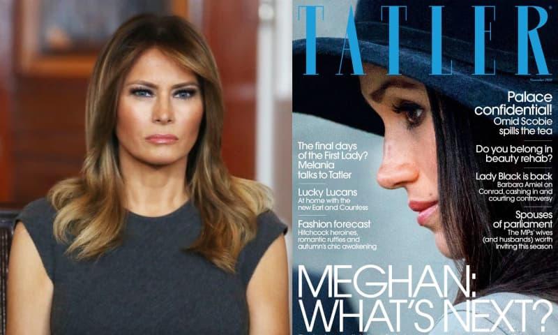 Bà Melania Trump mất trang bìa tạp chí vào tay Meghan Markle, tất cả chỉ vì người phụ nữ này