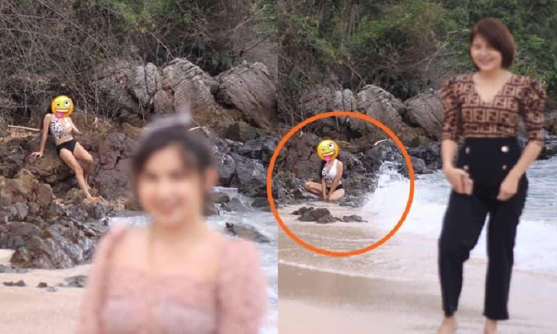 Nhờ anh chàng có 'máu dê' chụp ảnh lúc đi biển, hội chị em 'giận tím người' khi nhận thành quả