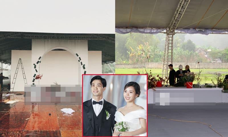 Đám cưới Công Phượng - Viên Minh ở Nghệ An: Rạp cưới tốn hàng trăm triệu, gần 1000 khách mời tới chung vui