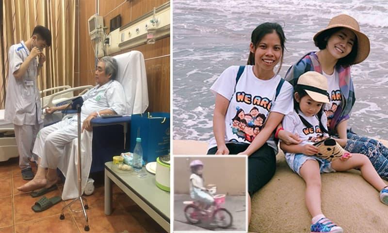 Sao Việt 3/12: Tình hình sức khỏe của NSND Quang Thọ sau tai biến; bảo mẫu tiết lộ con gái Mai Phương đã thành 'tay lái lụa'
