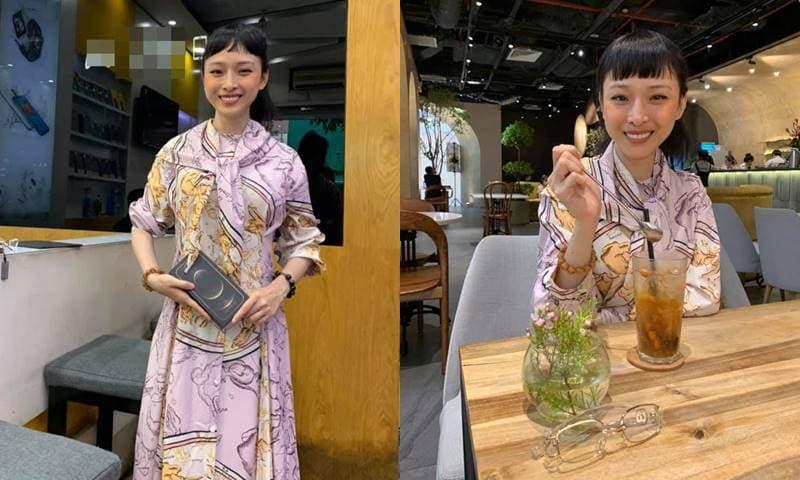 Hoa hậu Trương Hồ Phương Nga khoe ảnh mới tươi tắn nhưng mái tóc và khuôn mặt có phần lạ lẫm