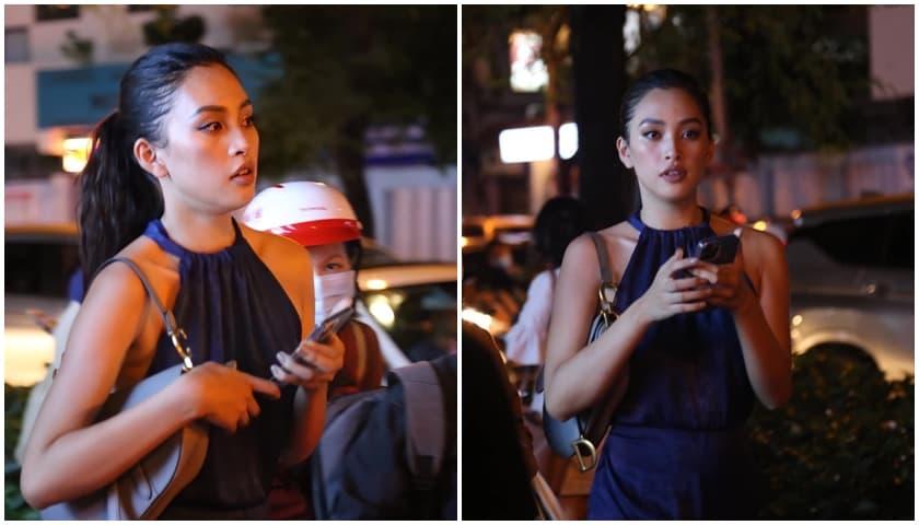 Được khen ngợi vì nhan sắc nhưng khi bị chụp lén, hoa hậu Tiểu Vy trông thế nào?