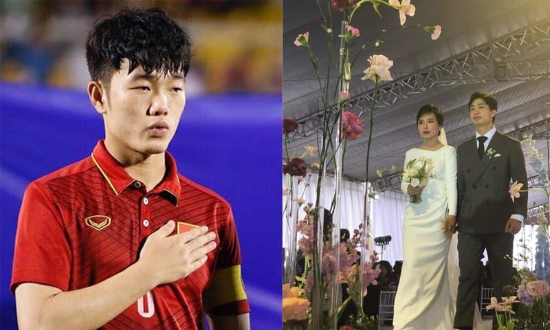Động thái chú ý của Lương Xuân Trường trong ngày Công Phượng tổ chức đám cưới tại Nghệ An