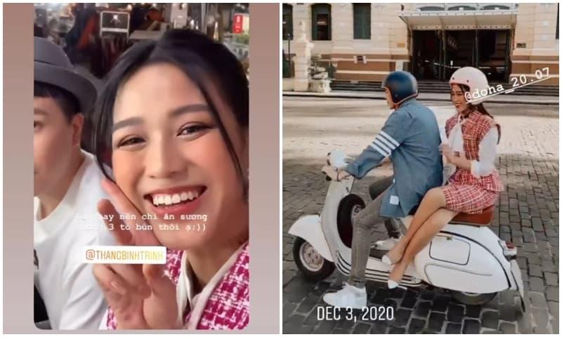 Đăng loạt ảnh thân mật, dân mạng đặt nghi vấn Hoa hậu Đỗ Thị Hà hẹn hò Trịnh Thăng Bình?