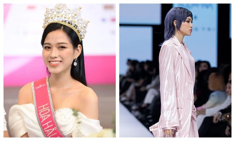 Tân Hoa hậu Việt Nam 2020 lần đầu sải chân trên sàn catwalk với nhan sắc khác lạ