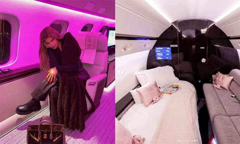 Bên trong phi cơ riêng gần 1.700 tỷ đồng của nữ tỷ phú Kylie Jenner