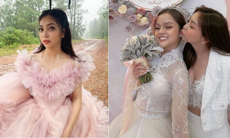Nhật Lê lên đồ gợi cảm đi ăn cưới bạn, trổ tài 'nữ công gia chánh' trước nghi án sắp lấy chồng