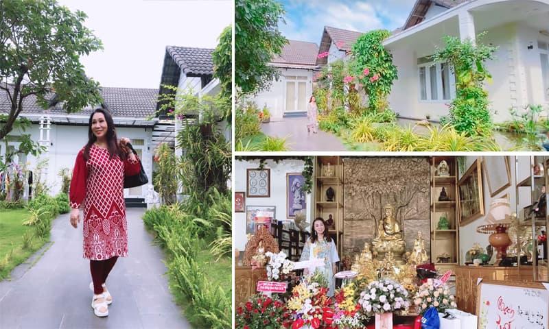 Khám phá không gian sống trong biệt thự của NSND Bạch Tuyết tại TP Hồ Chí Minh
