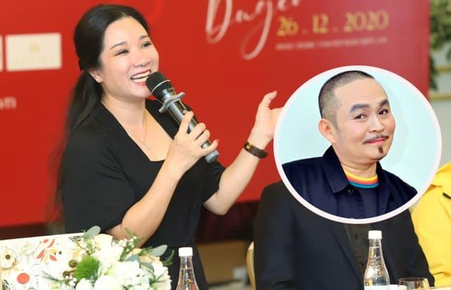 Thanh Thanh Hiền phải nhẫn nhịn khi diễn cùng danh hài Xuân Hinh