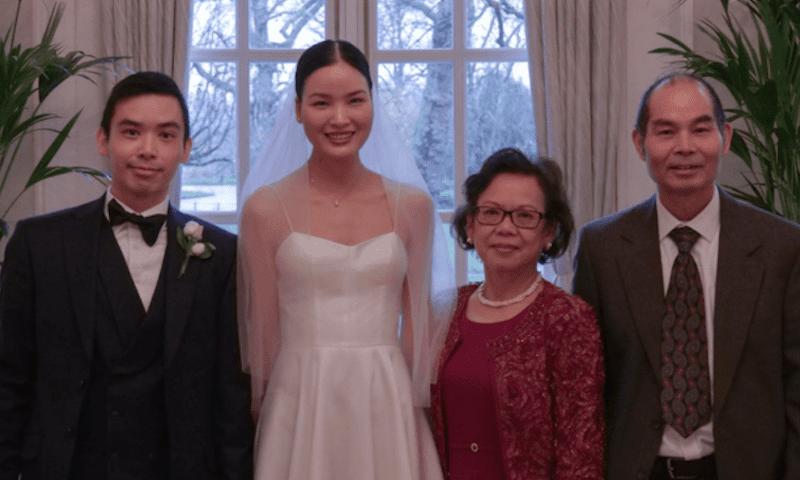 Á quân Next Top Chà Mi bất ngờ tung ảnh cưới tại Anh Quốc