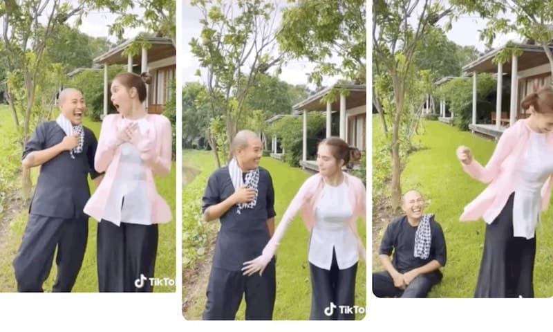 Ngọc Trinh đăng clip đụng chạm chỗ nhạy cảm của bạn nam, các fan tuyên bố unfollow