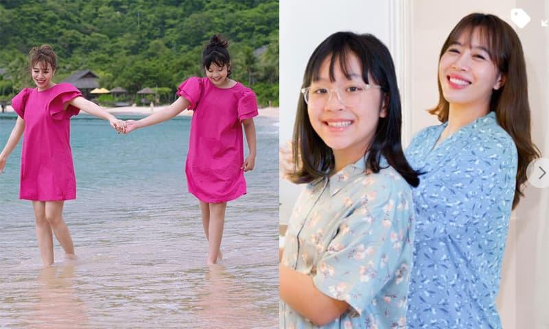 MC Diệp Chi 'hoảng' với tốc độ lớn nhanh của con gái: Mới 9 tuổi đã cao gần bằng mẹ