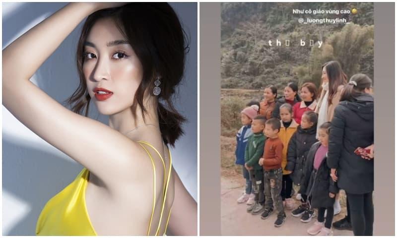Đỗ Mỹ Linh nhận được 'cơn mưa' lời khen vì cách đối nhân xử thế 'chuẩn' hoa hậu