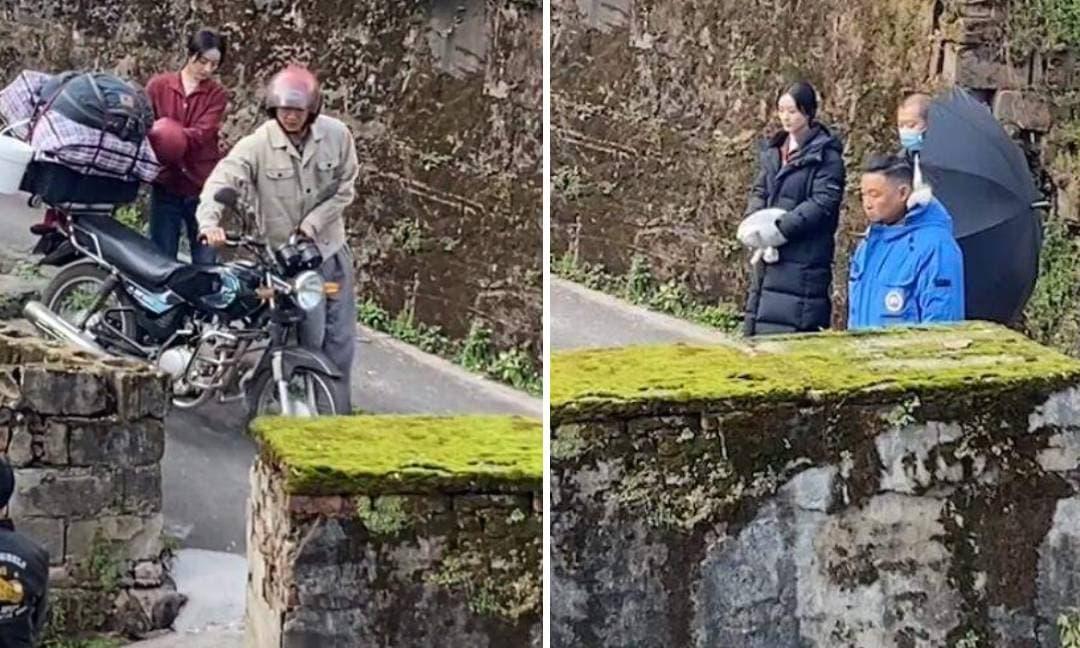 Triệu Lệ Dĩnh bị mắng té tát khi đang quay phim, chuyện gì thực sự đang xảy ra?