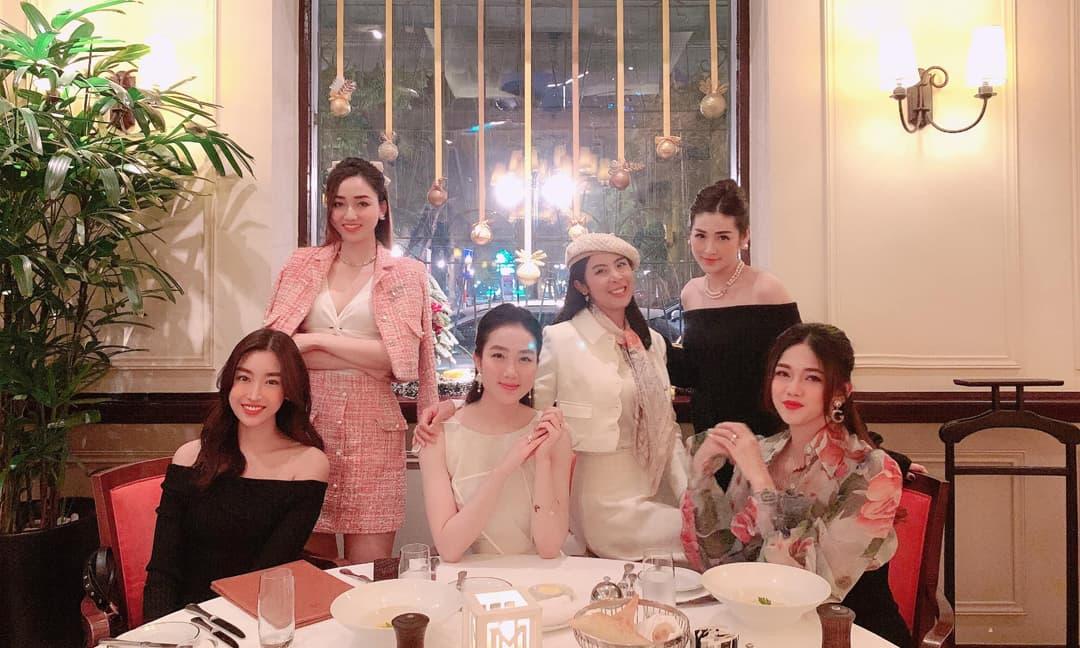 Loạt nàng Hậu xuất hiện rạng rỡ trong sinh nhật người đẹp Lan Hương