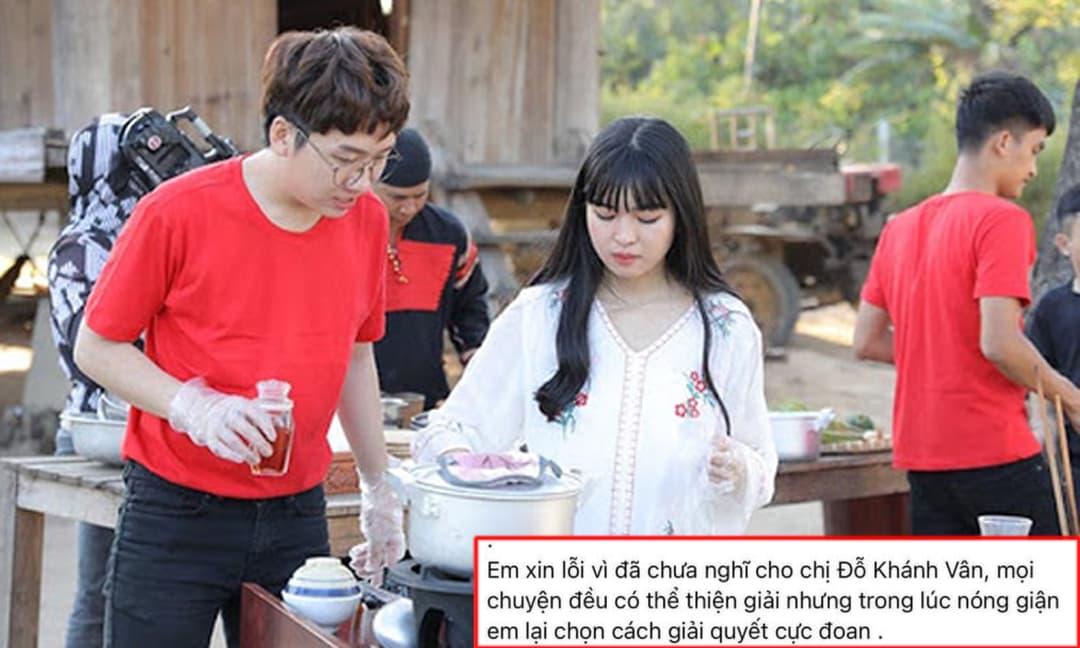 Bạn gái Phát La tiếp tục xoá bài 'bóc phốt' và xin lỗi Khánh Vân tập 2