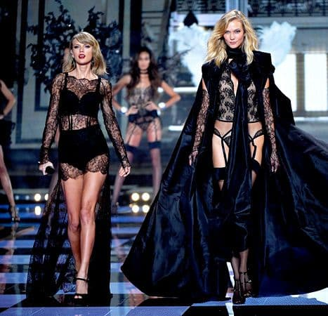 Từng 'chị chị em em' thân thiết, Taylor Swift bị nghi viết bài hát đá xoáy 'Thiên thần nội y' Karlie Kloss 8