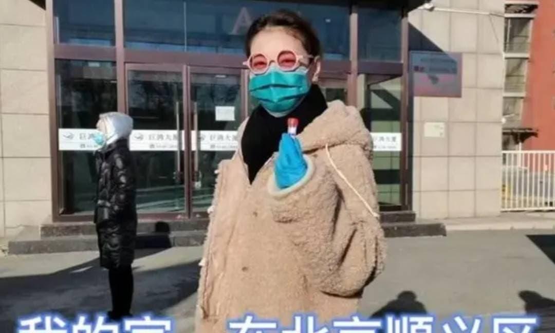 'Chu Chỉ Nhược' Châu Hải My xuất hiện với vòng 2 nhô cao, tiết lộ chuyện đi xét nghiệm