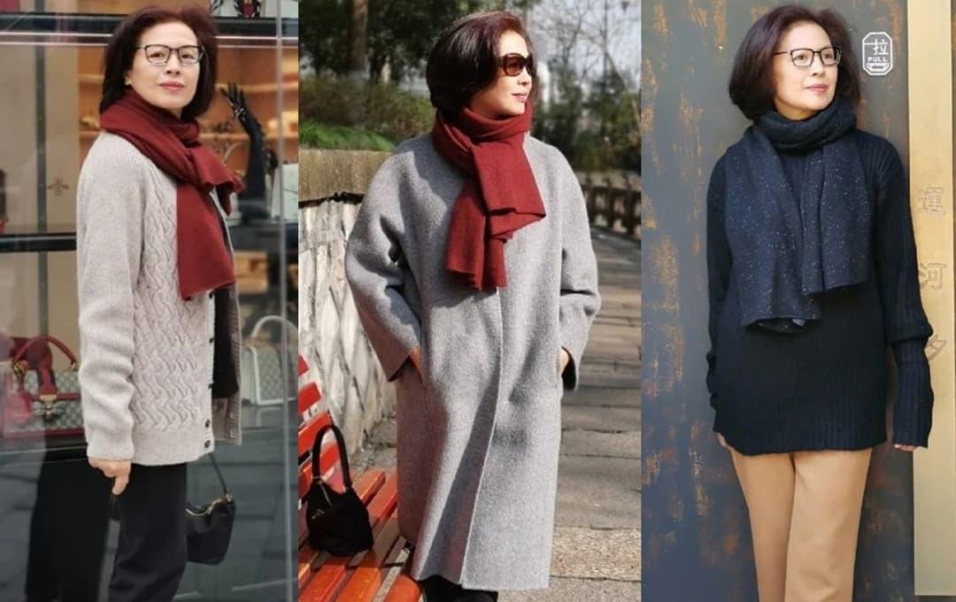 Khuyến cáo phụ nữ 50 tuổi ít mặc quần bó hơn! Mặc như một bà nội trợ Nhật Bản: thanh lịch và không lỗi thời