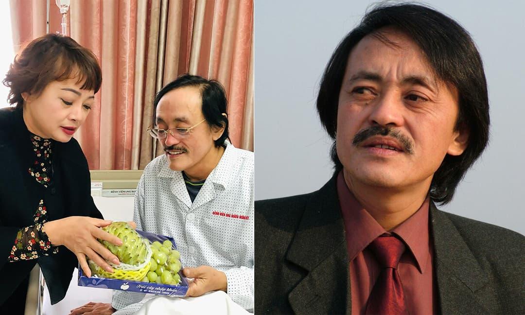 Giang Còi có khối u ở họng, đang điều trị ở Bệnh viện Ung bướu