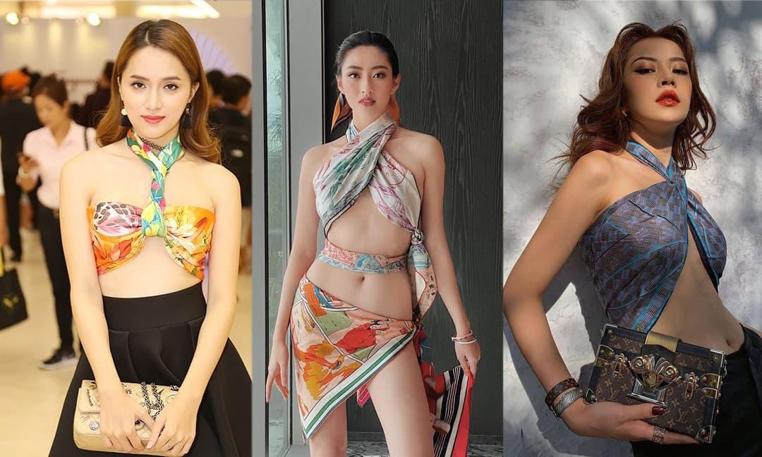 Lương Thùy Linh quấn khăn bốc lửa nhưng muốn 'đu trend' khi xuống phố hãy học tập loạt mỹ nhân này!