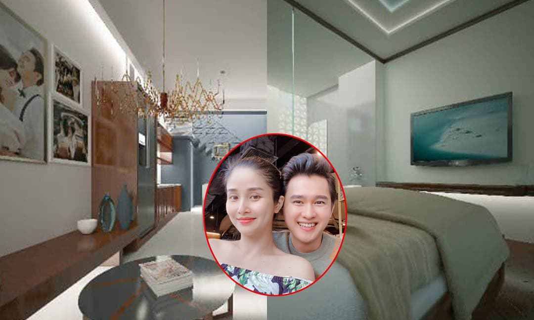 Thảo Trang và chồng trẻ kém 9 tuổi hào hứng khoe căn hộ sang trọng vừa 'tậu' sau hơn 4 tháng cưới nhau
