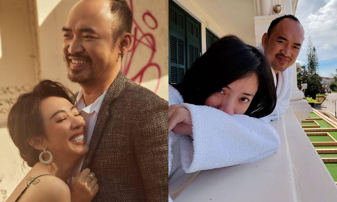 Tiến Luật hạnh phúc kỉ niệm 10 năm ngày cưới với bà xã Thu Trang: 'Mình vẫn nắm tay nhau'