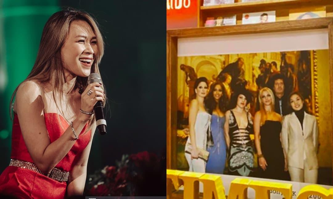 Đẳng cấp như Mỹ Tâm: đứng chung khung hình với Britney Spears, Beyoncé và Pink từ năm 2004