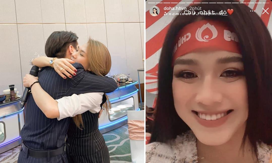 Sao Việt 17/1/2021: Đức Phúc ôm chầm Mỹ Tâm trong hậu trường sân khấu, Đỗ Thị Hà để lộ khuyết điểm trên gương mặt