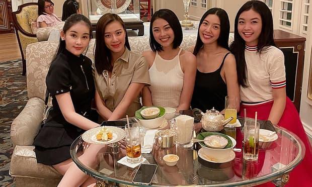 Dàn hoa hậu tụ hội mừng sinh nhật Ngân Anh, nhan sắc Kim Duyên thay đổi gây choáng
