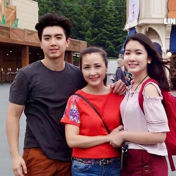 cuộc sống của diễn viên Khánh Huyền 1