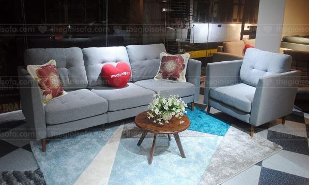 Mẫu sofa đơn kê phòng ngủ đẹp, giá rẻ phù hợp với các gia đình Việt