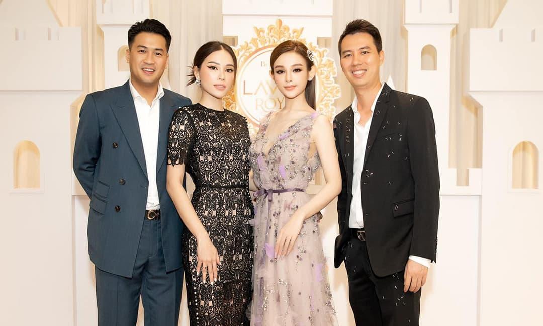 Vợ chồng Huyền Baby gặp Phillip Nguyễn - Linh Rin: Bức ảnh hội tụ toàn người giàu và giỏi