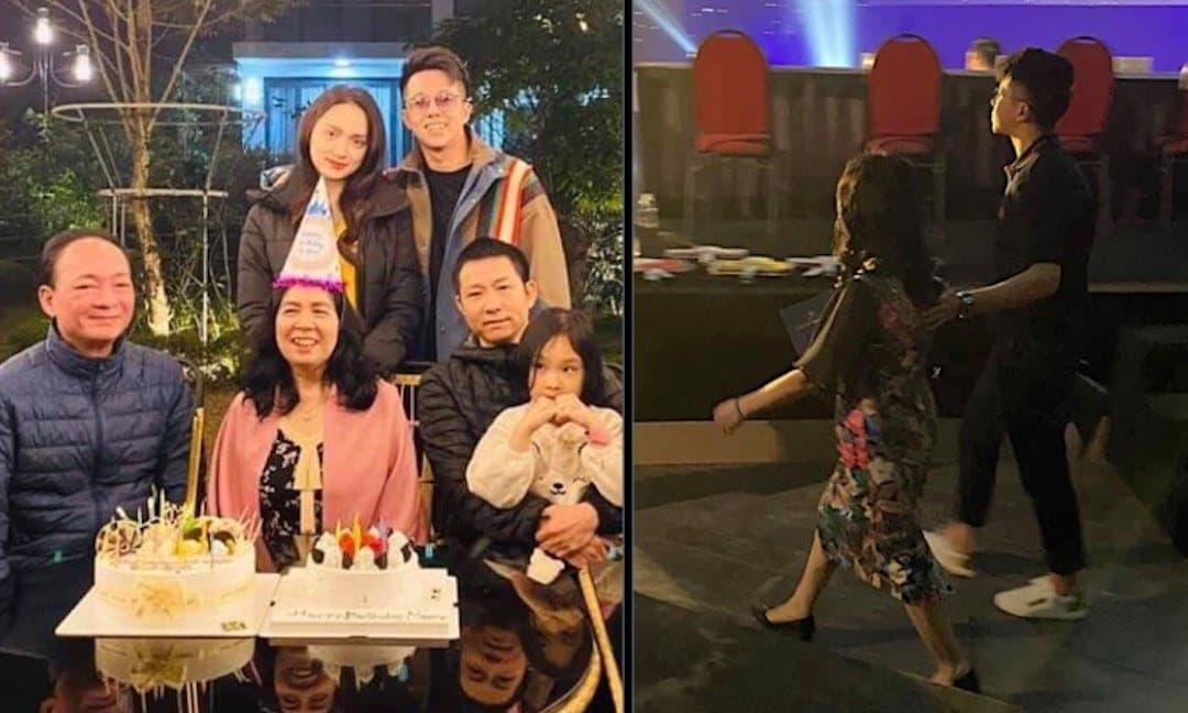 Matt Liu đưa bố mẹ Hương Giang đến cổ vũ cho bạn gái trong đêm Chung kết Đại Sứ Hoàn Mỹ 2020