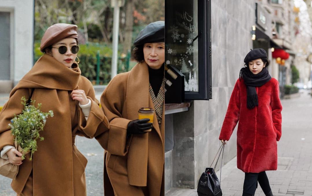 Làm thế nào để mùa đông khăn quàng cổ đẹp? Nữ blogger đã trình diễn rất tốt, bộ nào cũng đẹp