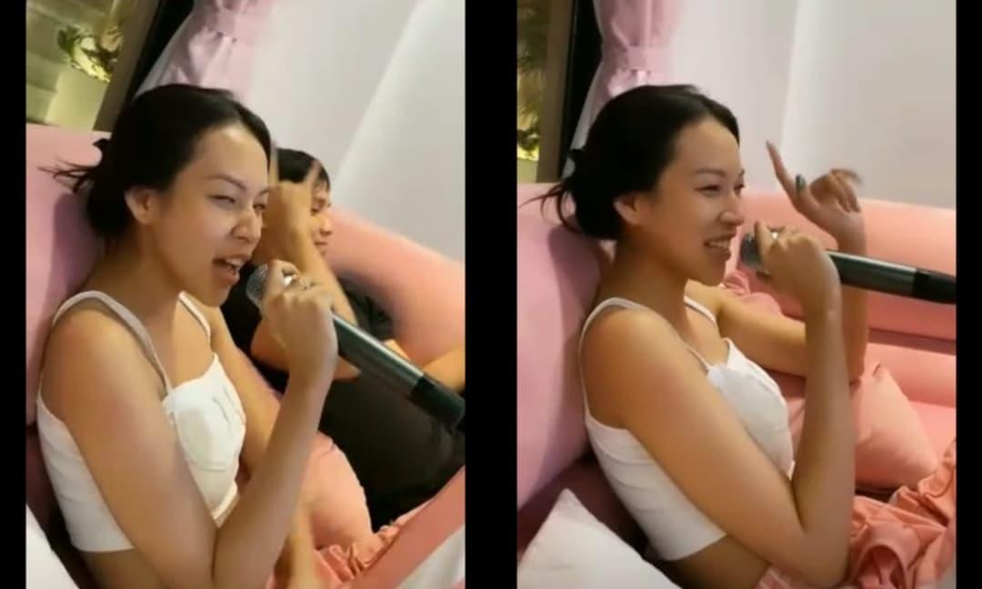 Lộ đoạn clip Phí Phương Anh hát live khiến netizen lắc đầu ngao ngán vì 'chả ra đâu vào đâu'