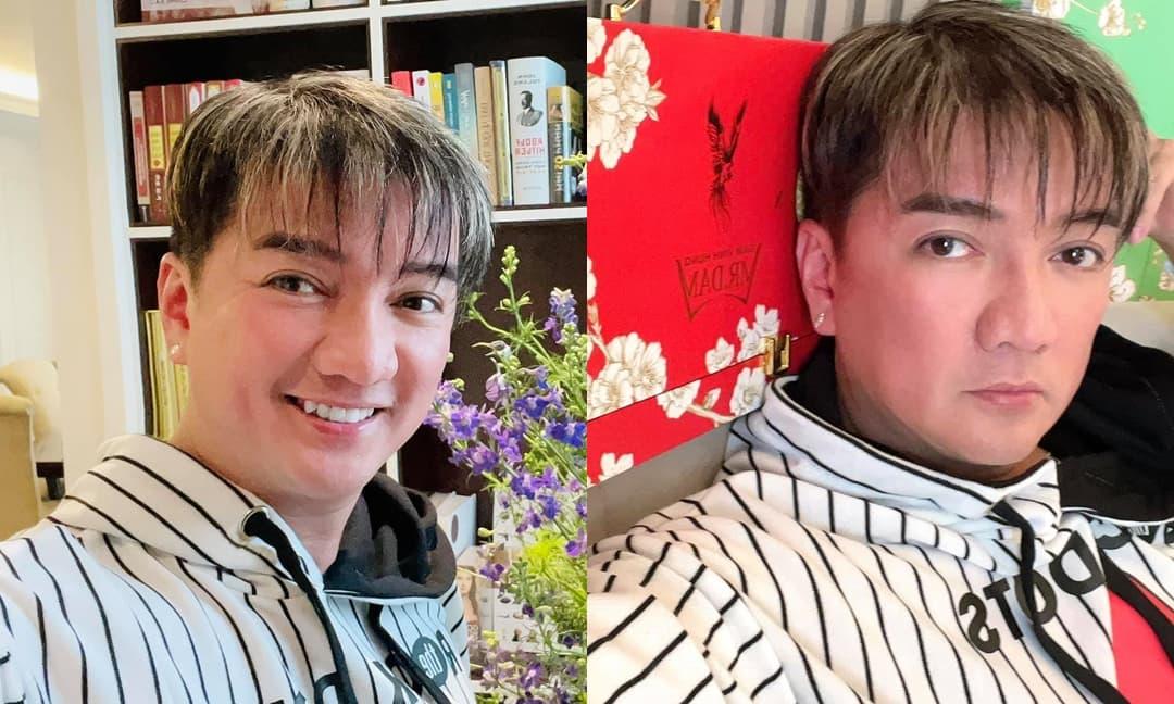Đàm Vĩnh Hưng 'chơi trội' cắt tóc mới đón Tết, phong cho Vũ Hà danh hiệu 'trùm sò showbiz' vì lý do này