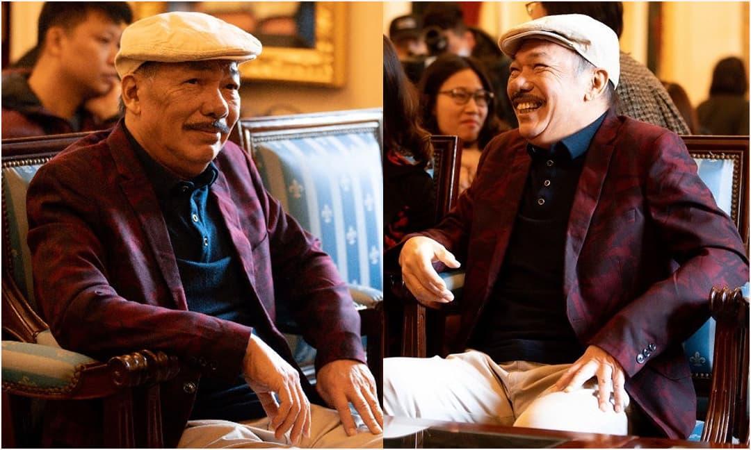 Nhạc sĩ Trần Tiến bất ngờ xuất hiện đầy phong độ và khỏe mạnh ở Hà Nội sau tin đồn qua đời