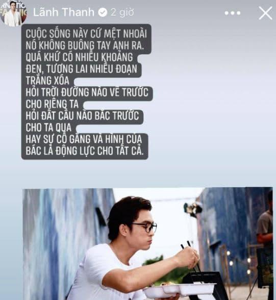 Giữa nghi vấn chia tay Lãnh Thanh, Nam Em có động thái nhái lại câu nói của Sơn Tùng như ngầm xác nhận đã toang