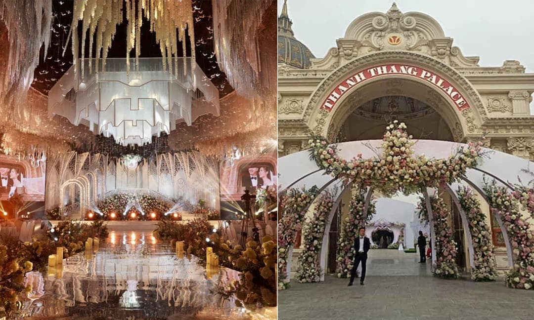 Dân mạng choáng váng với loạt ảnh trong đám cưới 'khủng' ở Ninh Bình: Thực đơn đủ món sơn hào hải vị