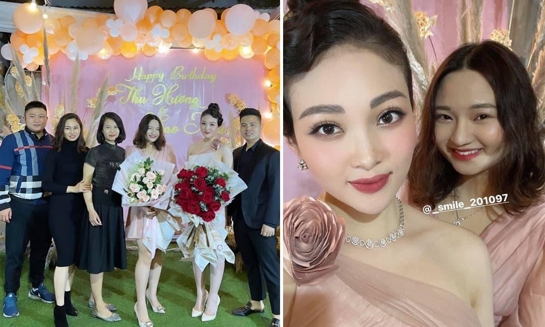 'Cô dâu đeo vàng trĩu cổ ở Nam Định' được tổ chức sinh nhật xa hoa tại lâu đài của gia đình