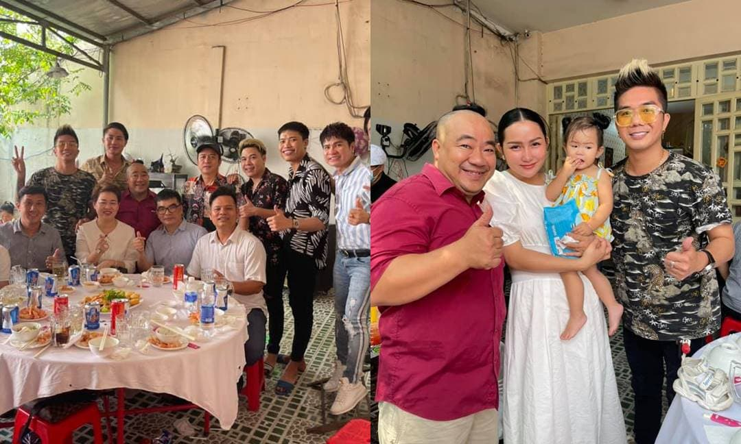 Nghệ sĩ Việt tề tựu trong ngày giỗ mẹ 10 năm của Hiếu Hiền