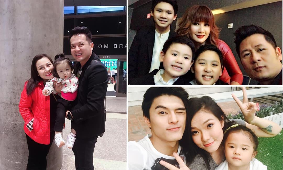 Sao Việt chu cấp cho con hậu ly hôn: Người chi tiền tỷ, kẻ không xu nào