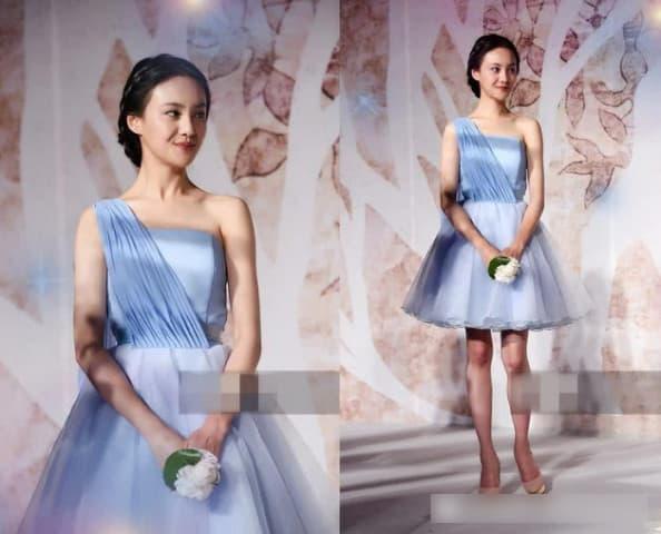 Cùng khoác lên người chiếc váy phù dâu xinh đẹp nhưng Quan Hiểu Đồng, Trịnh Sảng, hay Đường Yên đều thua Địch Lệ Nhiệt Ba 3