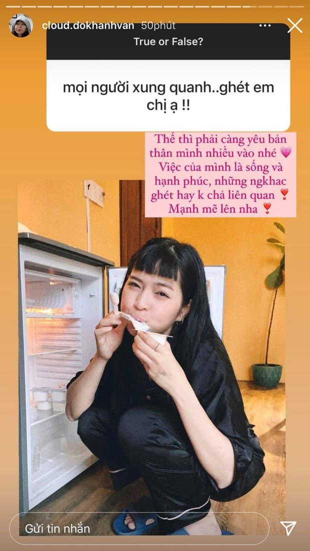 Khánh Vân có bạn trai 2