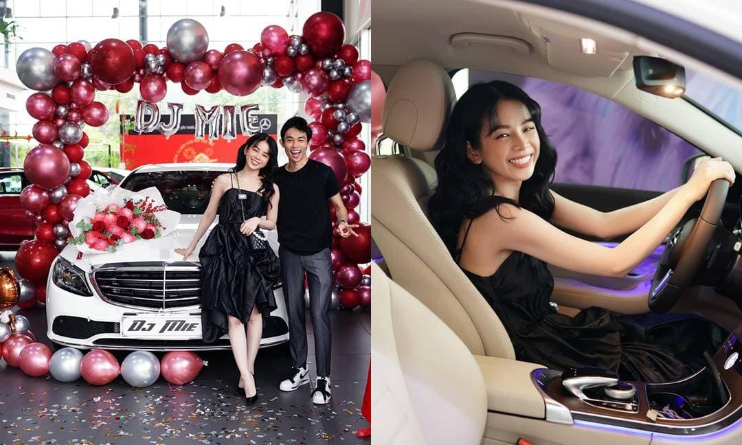 Hậu tin đồn chia tay, DJ Mie và bạn trai Hồng Thanh mạnh tay tậu xế hộp hơn 1,8 tỷ đón Tết