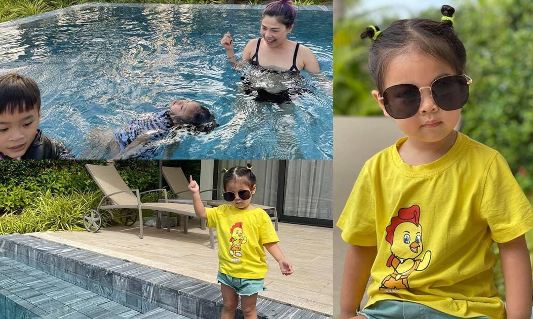 Gia đình Thanh Thảo du lịch ở resort Vũng Tàu, khoe luôn loạt ảnh con gái Talia quá dễ thương